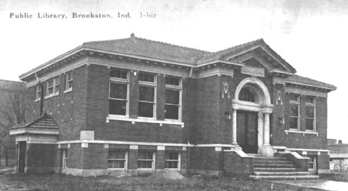 Brookston Library circa 1917
